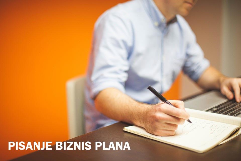 Pisanje biznis plana