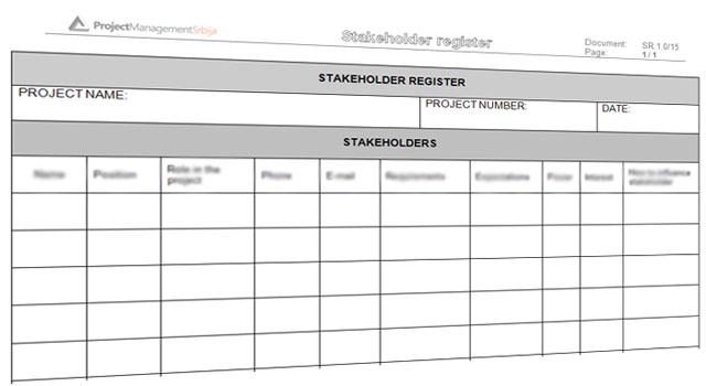 Registar stakeholdera