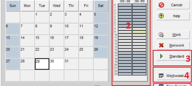 Oracle Primavera: kreiranje i podešavanje kalendara